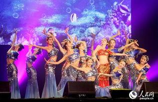 ...精彩的新年文艺演出. 晚会以恒大歌舞团的大型舞蹈《辉煌绽放》拉...