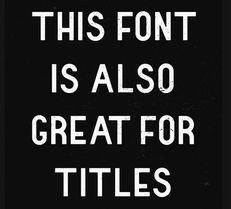 ...个时尚创意古怪特别的英文字体