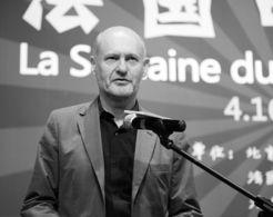 法国电影联盟主席让·保罗·萨罗米与观众亲密互动-影迷,是艺术电...