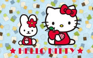 不老女神hello kitty可爱卡通形象电脑高清壁纸