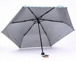 热卖正品台湾彩虹屋防紫外线 银胶黑胶遮阳伞 三折超强防晒太阳伞