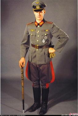 美军将军服-二战德军军装