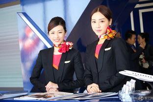 香港丽翔航空空姐-平时只有土豪才能见到的公务机空姐 这次来了一大波