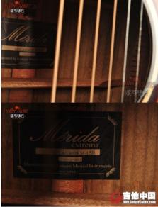 东北滚石琴行 美利达 M 15D 单板吉他