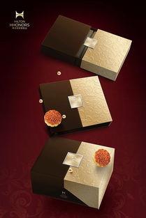 希尔顿酒店集团中秋月饼礼盒海报设计 刚奇包装出品