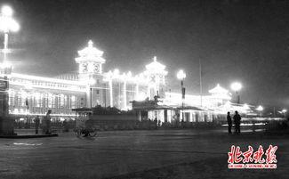 北京火车站夜景 张风摄-铁路部门增开天津济南贵阳方向高铁列车 2559...