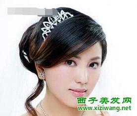 中式新娘发型打造最美婚嫁时刻