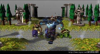 LostTemple 新8人 竞技 魔兽对抗地图下载 Los