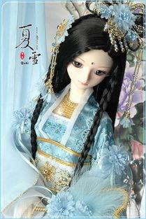 美图 绝美SD娃娃古装图片 情感意境 静物