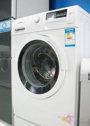西门子WM10S360TI卖场实拍-仅售999 八月各容量超值洗衣机盘点