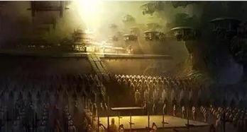 秦皇迷墓-据《三辅故事》记载,楚霸王项羽入关后,曾以三十万人盗掘秦陵....