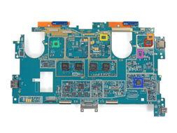 红色部分:Realtek RTS5304-微软Surface Pro 2拆解 自行修复难度很大