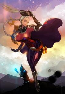 英雄联盟的百合禁忌之恋瑞雯与剑姬 超美古风