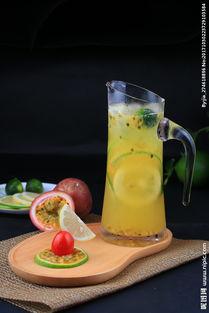 百香果冰柠檬茶图片