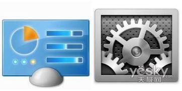 ...ndows7与Mac OS X 10.6图标对比