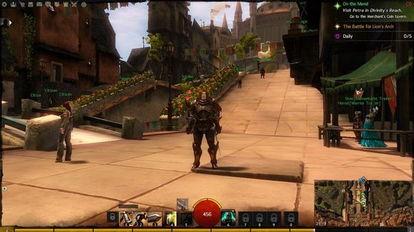 是我玩过的游戏里主城规模最大的了.效果基本全开,I5 ,GT755M显卡...