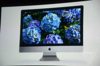 苹果发布全新iMac一体电脑