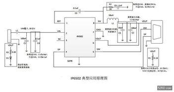 IP6502集成同步5V2.4A智能识别车充方案