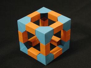 多面体-更多模块折纸 神奇