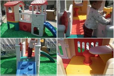 儿童室内组合滑梯 幼儿园秋千 ...