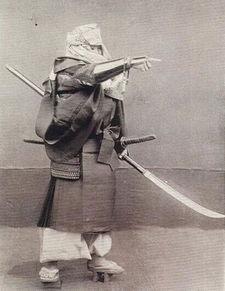 日本武士历史照片