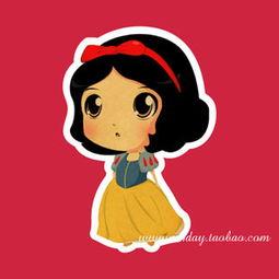 白雪公主卡通可爱