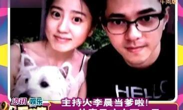 ...与L姓已婚男星约炮 主持人李晨被网友怀疑
