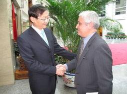 外交部部长助理张明会见埃及等国专家学者代表团