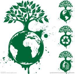 环保地球图片