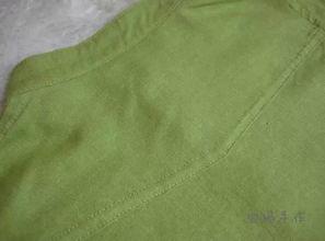 衬衫袖叉宝剑头的做法-立领棉麻男童衬衣的制作教程