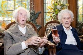 利时一对双胞胎姐妹迎来100岁的寿诞,有望打破之前法国一对