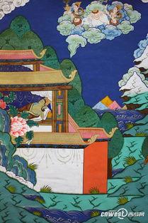 聚焦 九色甘南 合作藏文化唐卡展