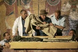 图坦卡蒙木乃伊-农户家中发现圣旨 揭秘那些和诅咒有关的无价之宝 组...