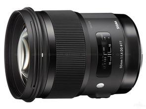 大光圈标准镜头适马50mmF1.4Art特价5100