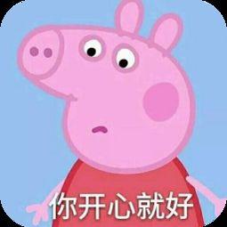 你开心就好-表情 小猪佩奇表情包带字 小猪佩奇骂人表情包高清版下载...