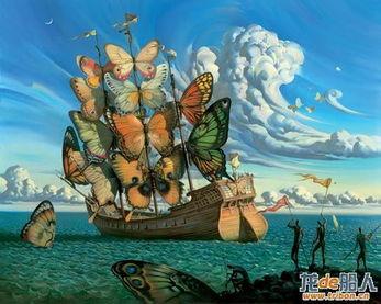 想像中的船