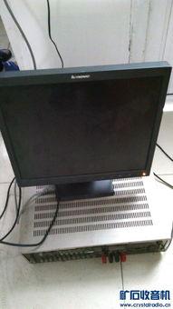 戴尔小主机加17寸联想液晶显示器 海康8路监控主机带1硬盘总计300卖