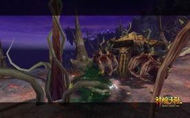 《神魔大陆》实景截图-荒芜之神-深度挖掘 神魔大陆神秘副本 灾域虚空