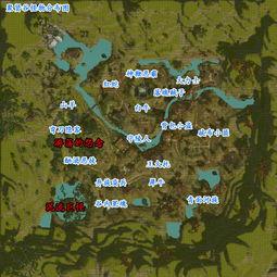 聚贤谷怪物分布图