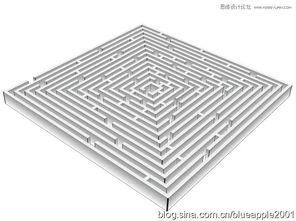...】|【 】|【重新着色图稿】. -Illustrator制作立体效果的正方形迷宫教程