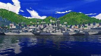 真实历史系列 战舰世界蒙大拿级1945年涂装