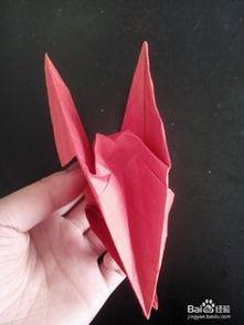 会飞的纸鹤折法