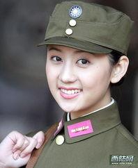 电视剧军服美女集中营 朱茵国军制服照最惊艳 图组