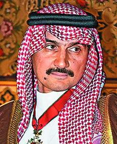 沙特王子阿勒瓦利德位居榜首.-阿拉伯富豪 掉价 三成