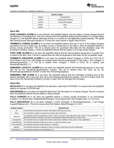 ...ents厂商 BQ2060A E619DBQG4 pdf预览第 34 页, datasheet数据手...