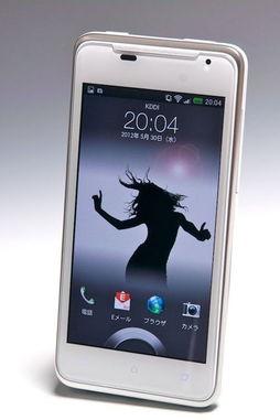 HTC J解锁画面(图片引自+D moblie)-难以置信的高速 J让手机摄影...