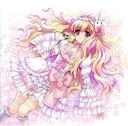 动漫世界的性感小公主,qq卡通皮肤大图