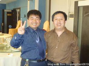 [在学习报社招待宴上我和《学习报》语文学科帅哥 (右)合影] -洛阳...