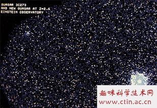 这些来自可见宇宙边缘的明亮信号灯向我们闪耀,提醒着科学家宇宙曾...