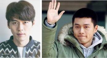 韩国众男星入伍照颜值比拼,他们用事实证明寸头不是谁都能留的